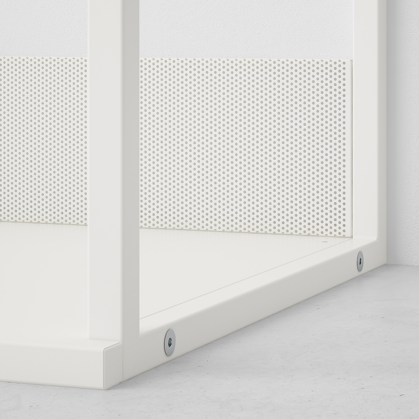 PLATSA Open shelving unit, white, 60x40x60 cm