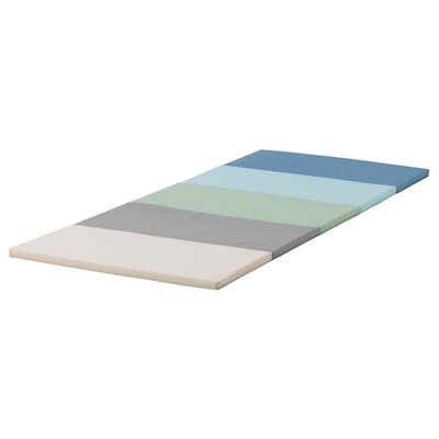 PLUFSIG Folding gym mat, blue, 78x185 cm