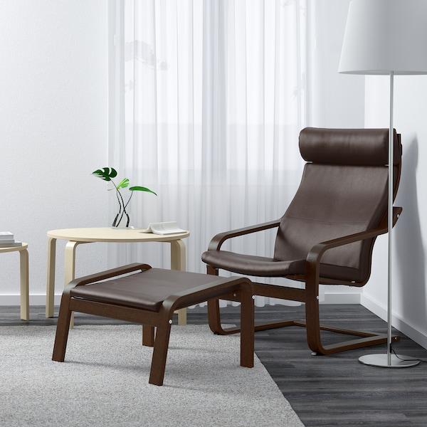 POÄNG armchair brown/Glose dark brown 68 cm 83 cm 100 cm 55 cm 53 cm 41 cm