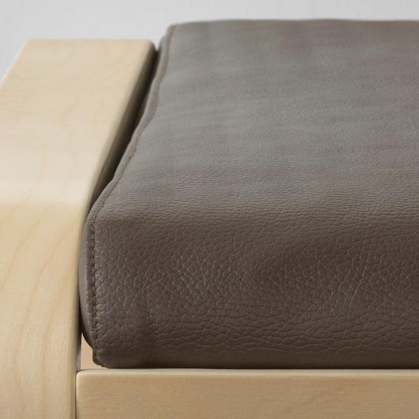POÄNG footstool birch veneer/Glose dark brown 68 cm 54 cm 39 cm 54 cm 54 cm 38 cm