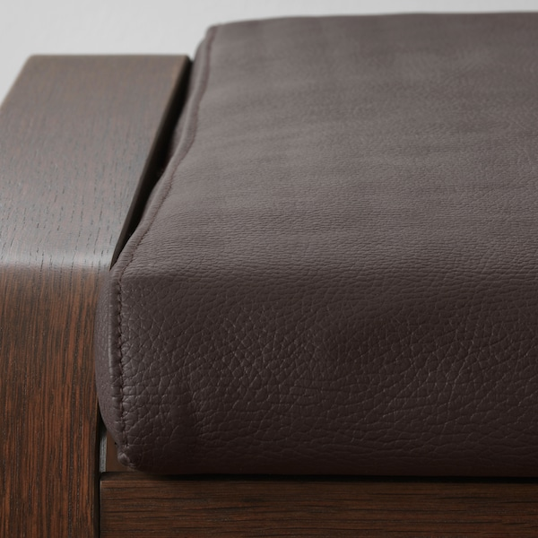 POÄNG footstool brown/Glose dark brown 68 cm 54 cm 39 cm 54 cm 54 cm 38 cm