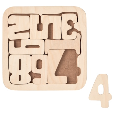 PYSSLA Puzzle, numbers/plywood