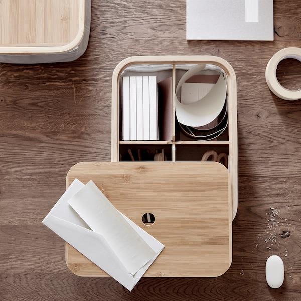 RABBLA box with compartments 25 cm 35 cm 10 cm