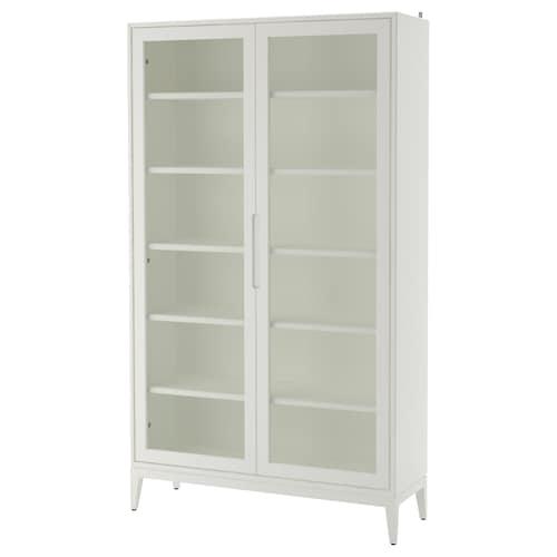 REGISSÖR glass-door cabinet white 118 cm 38 cm 203 cm 30 kg