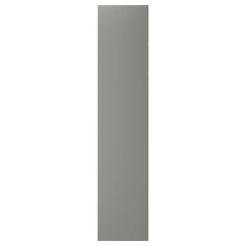 REINSVOLL door with hinges grey-green 49.5 cm 229.4 cm 236.4 cm 1.6 cm