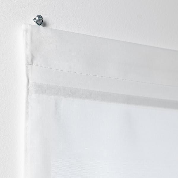 RINGBLOMMA Roman blind white 160 cm 120 cm 1.92 m²