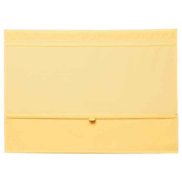 RINGBLOMMA Roman blind yellow 160 cm 80 cm 1.28 m²