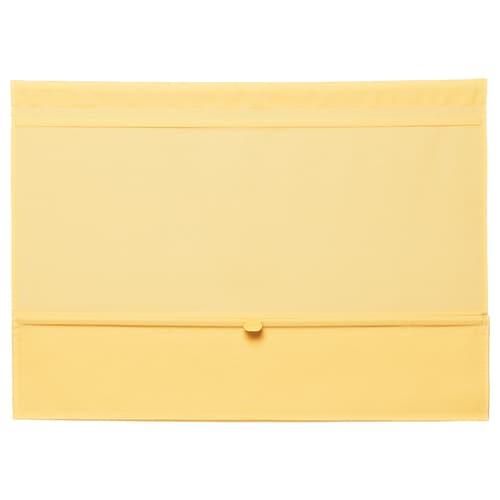 RINGBLOMMA Roman blind yellow 160 cm 120 cm 1.92 m²