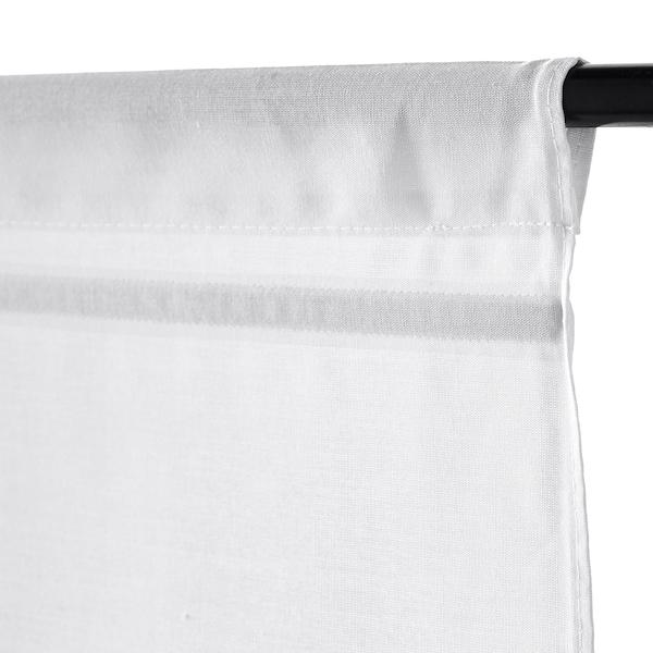 RINGBLOMMA Roman blind white 160 cm 60 cm 0.96 m²