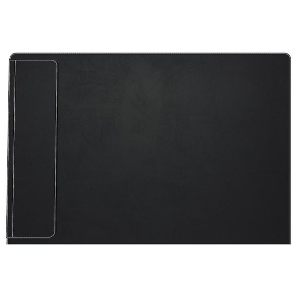 RISSLA desk pad black 86 cm 58 cm