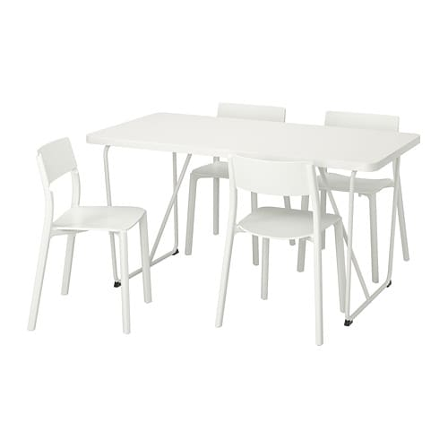 RYDEBÄCK/BACKARYD / JANINGE Table and 4 chairs