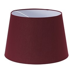 RYRA lamp shade, wine red