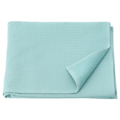 SALVIKEN Bath towel, light blue, 70x140 cm