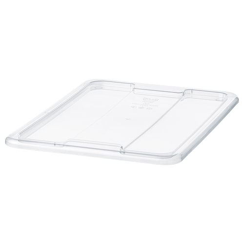SAMLA lid for box 11/22 l transparent 39 cm 28 cm