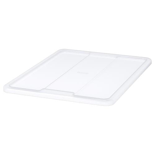 SAMLA lid for box 45/65 l transparent 56 cm 39 cm
