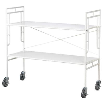 SAMMANKOPPLA Shelving unit, white, 113x99 cm