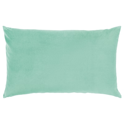 SANELA Cushion cover, light green, 40x65 cm