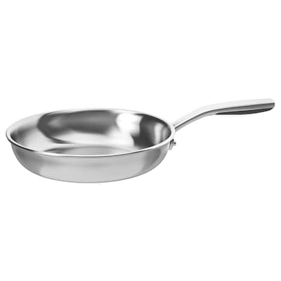 SENSUELL Frying pan, stainless steel/grey, 24 cm