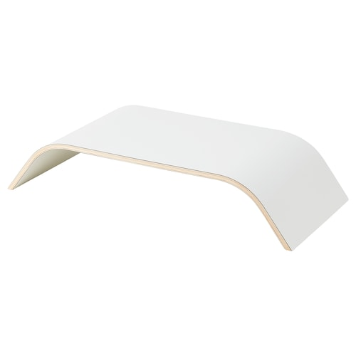 SIGFINN monitor stand, fixed height white 53 cm 24 cm 10 cm