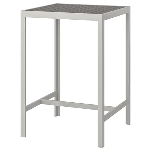 SJÄLLAND bar table, outdoor dark grey/light grey 71 cm 71 cm 103 cm