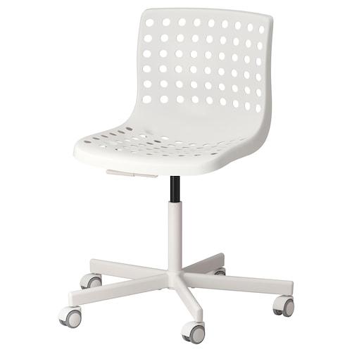 SKÅLBERG / SPORREN swivel chair white 110 kg 71 cm 71 cm 90 cm 46 cm 40 cm 42 cm 54 cm