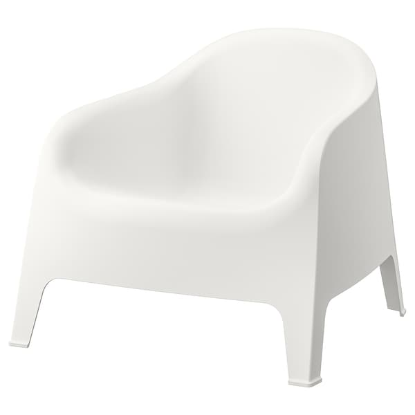 SKARPÖ armchair, outdoor white 110 kg 79 cm 81 cm 71 cm 53 cm 49 cm 37 cm