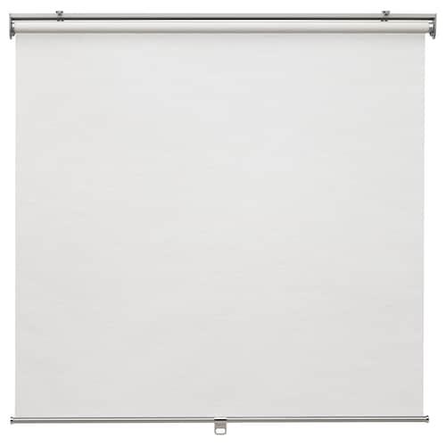 SKOGSKLÖVER roller blind white 80 cm 83.4 cm 195 cm 1.56 m²