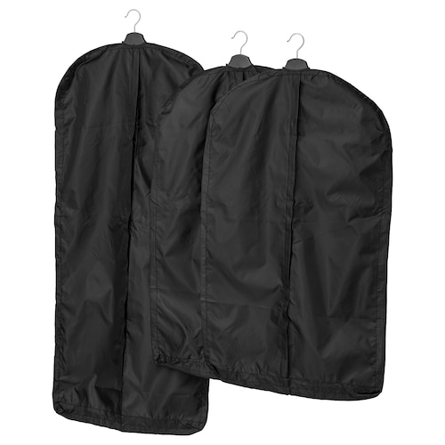 SKUBB clothes cover, set of 3 black