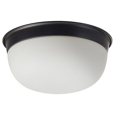 SKURUP Ceiling/wall lamp, black, 25 cm
