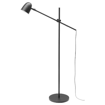 SKURUP Floor/reading lamp, black