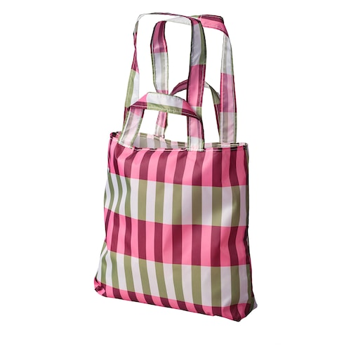SKYNKE carrier bag green/pink 45 cm 36 cm
