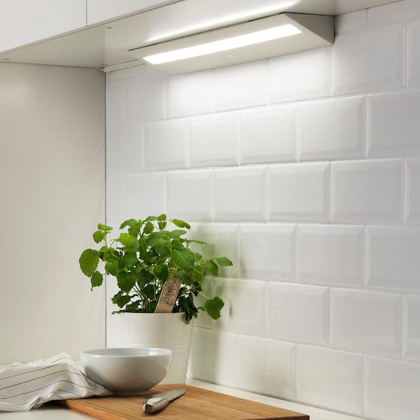 SLAGSIDA LED worktop lighting white 6.6 W 480 lm 60.0 cm 9.4 cm 4.7 cm 3.5 m