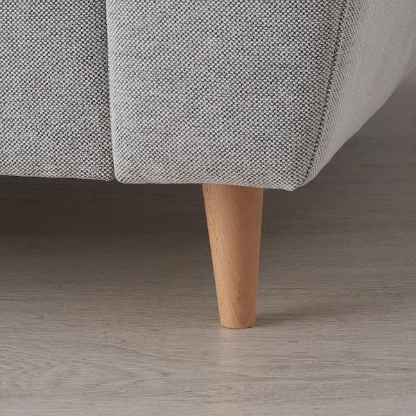 SLATORP 3-seat sofa, with chaise longue/Tallmyra white/black