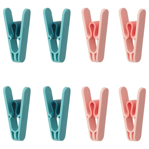 SLIBB clothes peg 8 pack