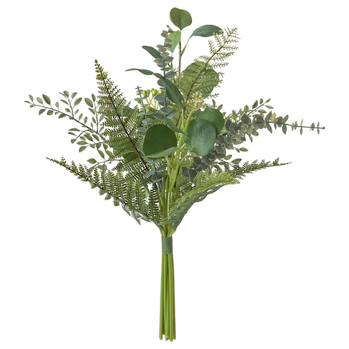 SMYCKA Artificial bouquet, in/outdoor green, 50 cm