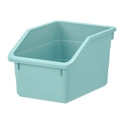 SOCKERBIT storage box, light blue