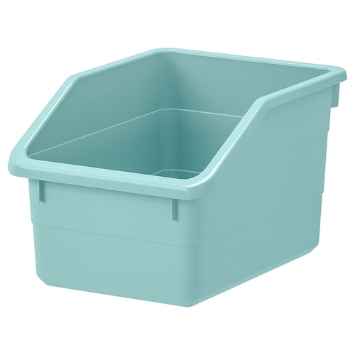SOCKERBIT storage box light blue 26 cm 19 cm 15 cm