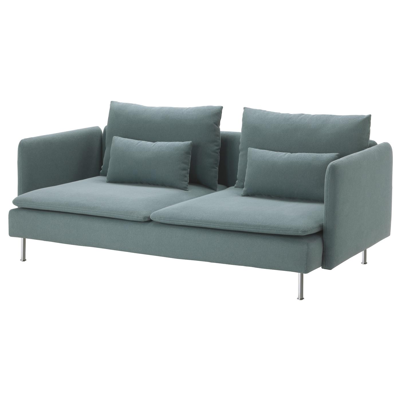 3 Seat Sofa Finnsta Turquoise