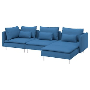 Cover: With chaise longue/vissle blue.