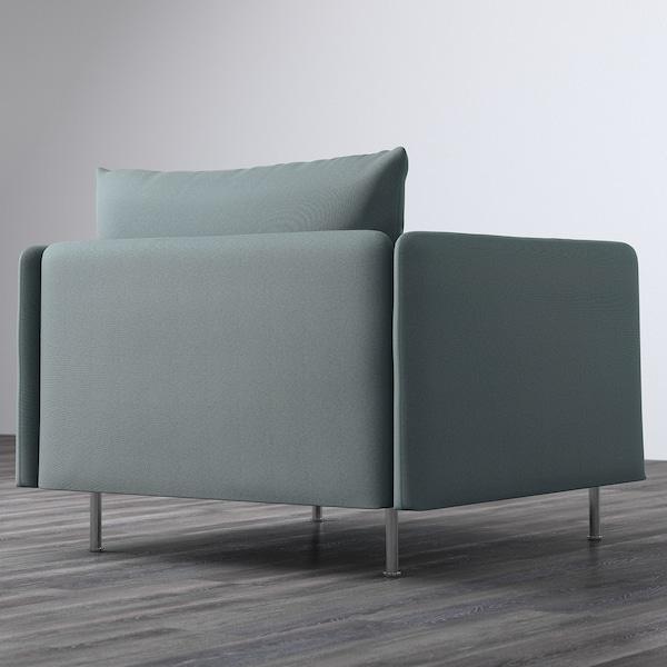 SÖDERHAMN armchair Finnsta turquoise 105 cm 99 cm 83 cm 93 cm 48 cm 40 cm