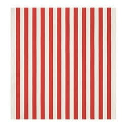 SOFIA fabric, broad-striped, red/white