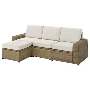 Colour: With footstool brown/frösön/duvholmen beige.