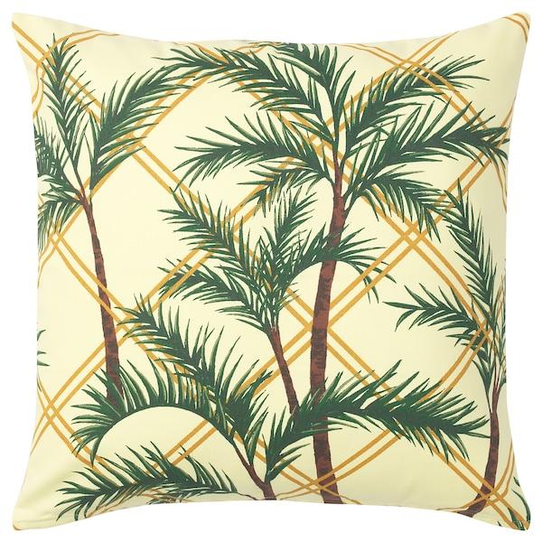 SOMMAR 2020 cushion cover light yellow/multicolour 50 cm 50 cm