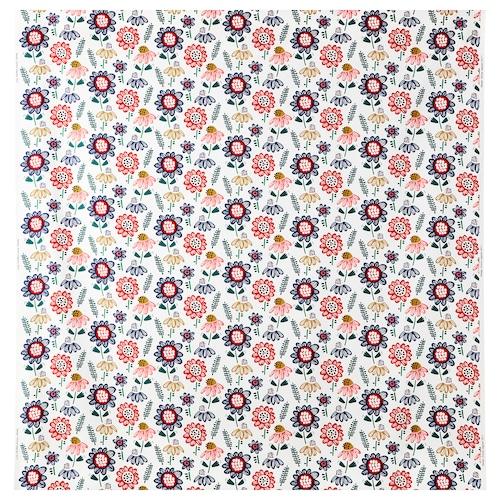 SOMMARASTER fabric white/multicolour 230 g/m² 150 cm 1.50 m²