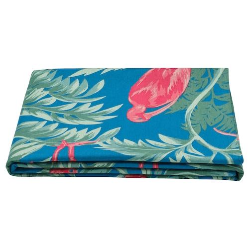 SOMMARLIV tablecloth bird/multicolour 240 cm 145 cm