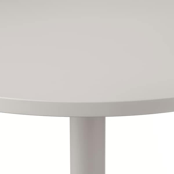 STENSELE / RÖNNINGE table and 2 chairs light grey/light grey green 70 cm