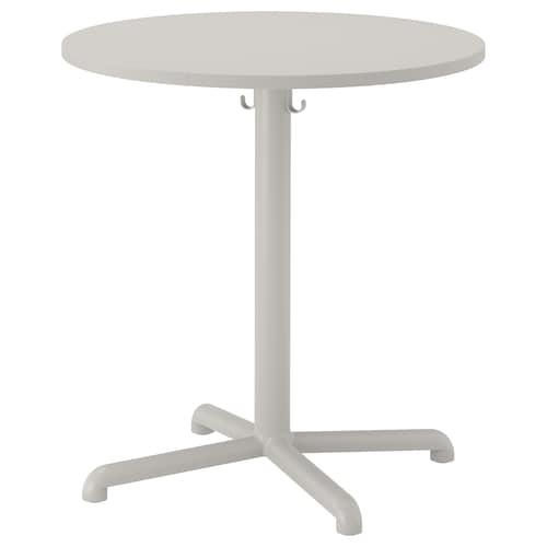 STENSELE table light grey/light grey 75 cm 70 cm