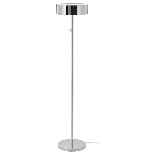 STOCKHOLM 2017 floor lamp chrome-plated 13 W 140 cm 28 cm 30 cm 2.0 m