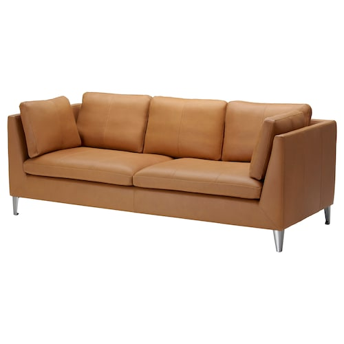 STOCKHOLM three-seat sofa Seglora natural 211 cm 88 cm 80 cm 14 cm 72 cm 158 cm 59 cm 43 cm 3 pack