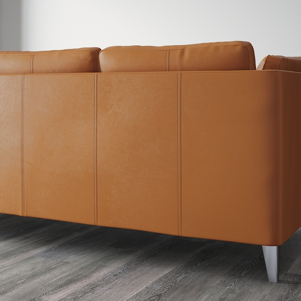 STOCKHOLM Three-seat sofa, Seglora natural